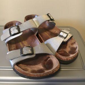 Silver Papillio By Birkenstocks Sandals